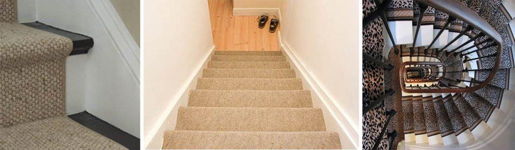 Alfombras para escalera decoracion urbana for Escaleras con alfombra